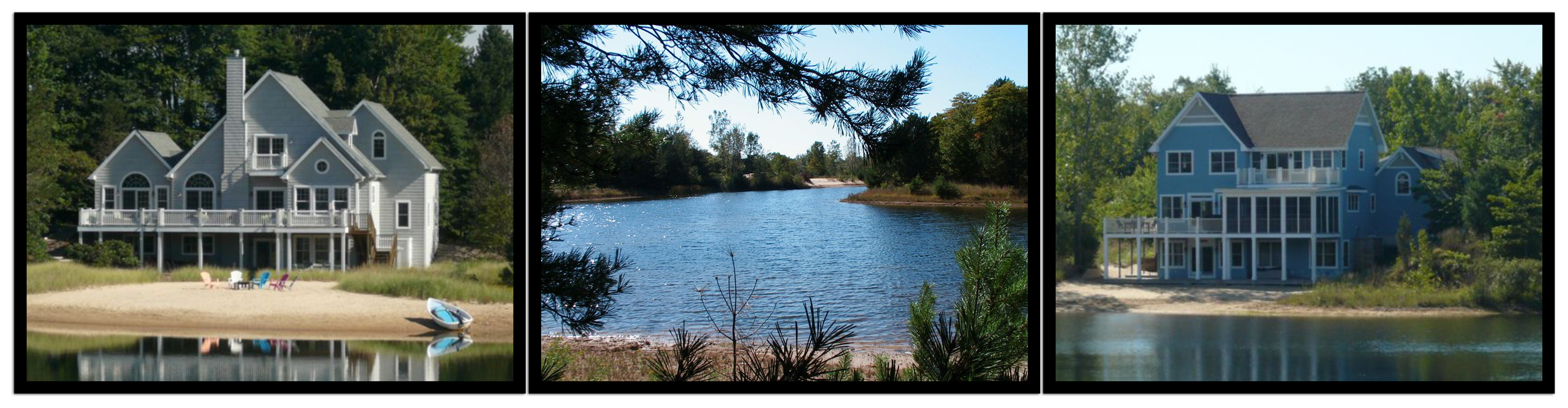 Lakefront homes & sites near South Haven Michigan