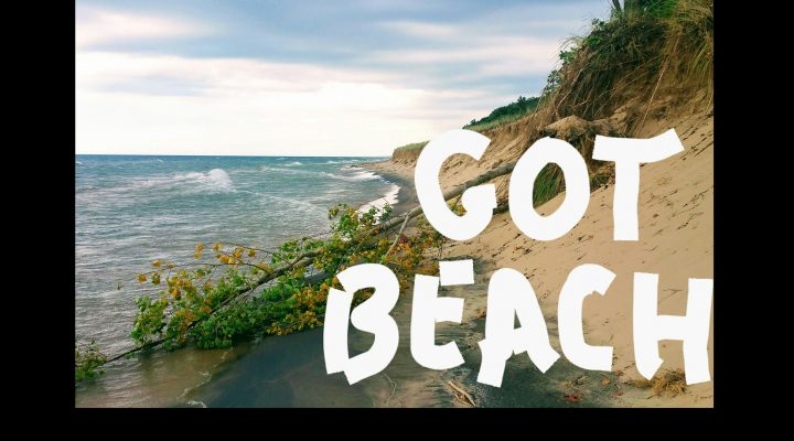 Private lakefront homes beaches near South Haven Michigan