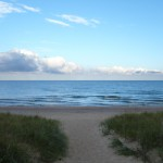 Waterfront lakefront homes sites property South Haven Michigan St Joseph Michigan Lake Michigan Southwest Michigan real estate fishing swimming boating private beach