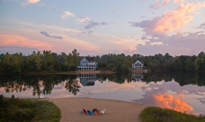 Lakefront Homes Sites Near South Haven Michigan Beautiful Lake Sky View