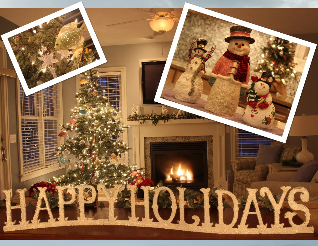 Holidays at your lakefront cottage near South Haven Michigan